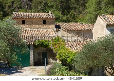 Rural house in Provence, France