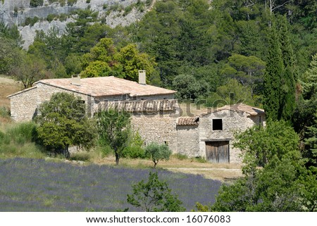 Rural house in the Provence, southern France
