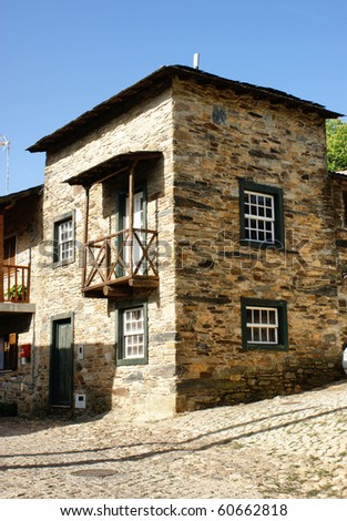 Rural house of Rio de Onor, a small village in north of Portugal