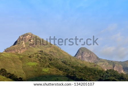 Rural landscape - mountain - the mountain region of Rio de Janeiro - cold weather - Adventure site, extreme sports - ECO - TOURISM - Riding and Trail - Petropolis