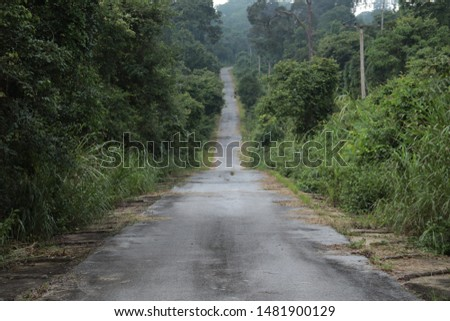 Rural roads are the highways that the Department of Highways  The countryside is responsible for the construction, expansion, restoration and maintenance and is registered as a rural highway. #1481900129