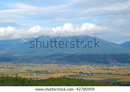 rural scenery - stock photo