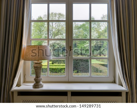Rural Window Frame