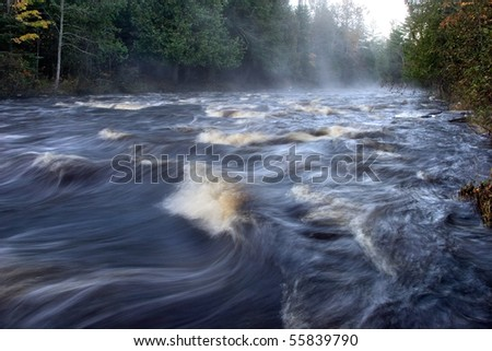 Rushing Water, Sturgeon River, Michigan's Upper Peninsula