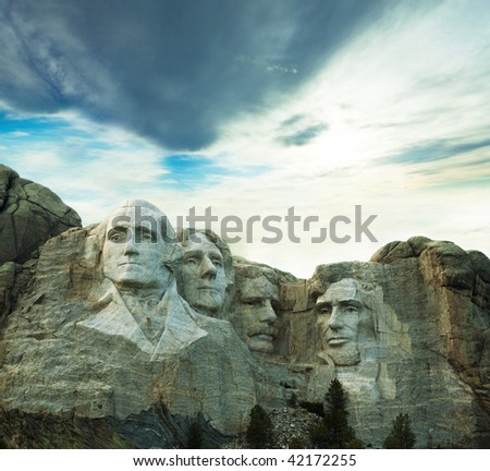 Rushmore monument