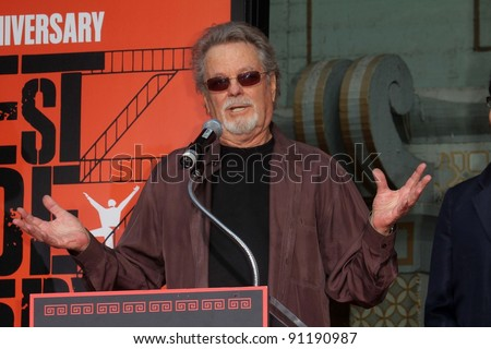 """Russ Tamblyn at the """"West Side Story"""" Cast Hand and Footprint Ceremony, Chinese Theater, Hollywood, CA 11-15-11"""