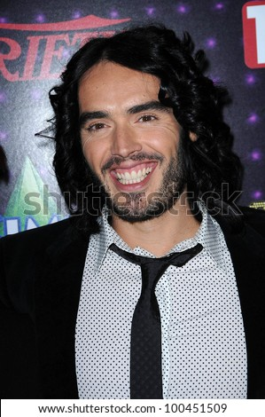 Russell Brand at Variety's 1st Annual Power Of Comedy Event, Club Nokia, Los Angeles, CA. 12-04-10