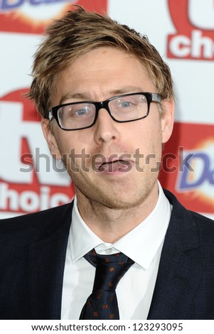 Russell Howard arriving for the 2012 TVChoice Awards, at the Dorchester Hotel, London. 10/09/2012. Picture by:  Steve Vas