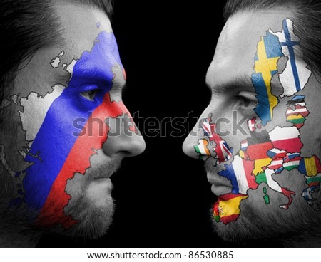 Russia Against Europe.