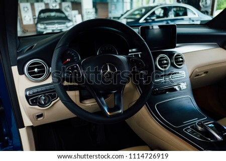 Russia, Chelyabinsk - June 7 , 2017: the car Mercedes Benz #1114726919