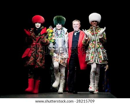 Russian fashion week fall winter 2009 2010 slava zaitsev fashion