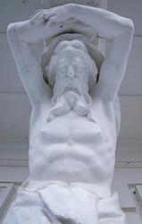 Russia Rukovishnikov's Estate sculptures statue 1875—1877