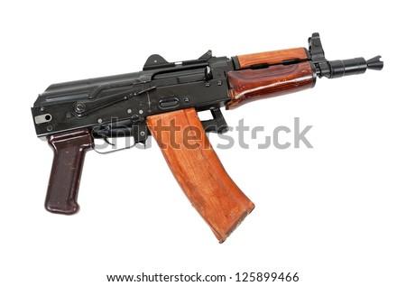 Russian automatic rifle AKS-74U