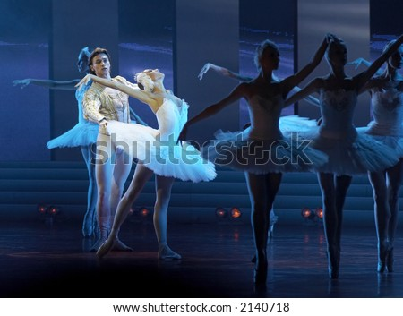 Russian ballet in Kremlin Palace Moscow