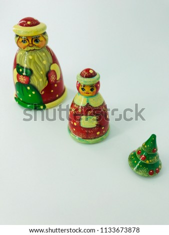 Russian Christmas dolls #1133673878