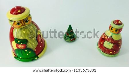 Russian Christmas dolls #1133673881