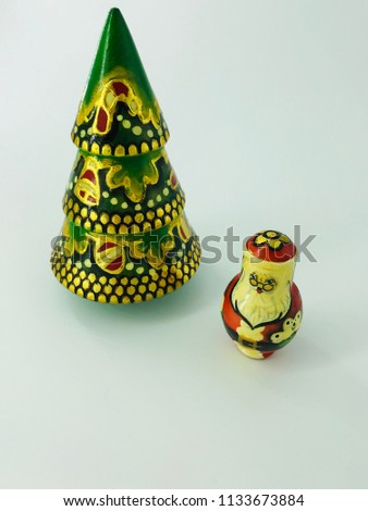 Russian Christmas dolls #1133673884