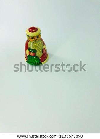 Russian Christmas dolls #1133673890