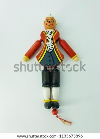 Russian Christmas dolls #1133673896