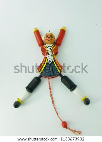 Russian Christmas dolls #1133673902