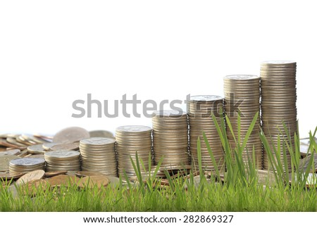 Russian coins taken in the studio with artificial light Images and