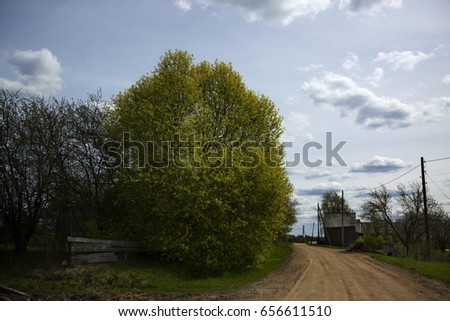 Russian country/Country road/Country road #656611510