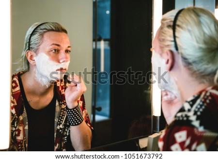 Russian drag queen #1051673792