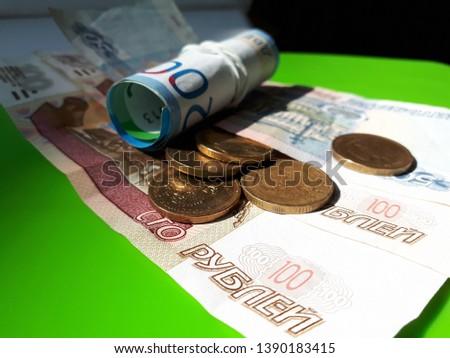 Russian money, greed, earnings, livelihood