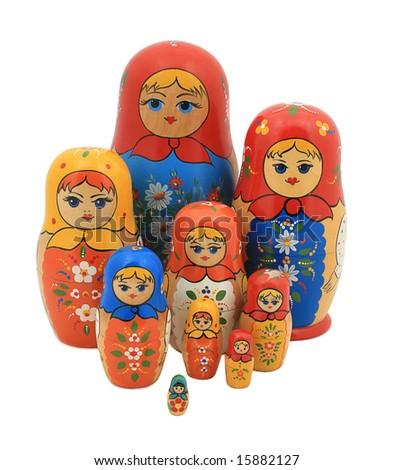 russian natinal matreshka