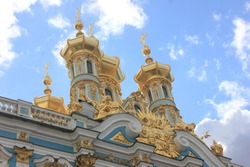 Russian Pushkin Palace St. Petersburg, Russia