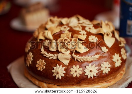 russian wedding cake
