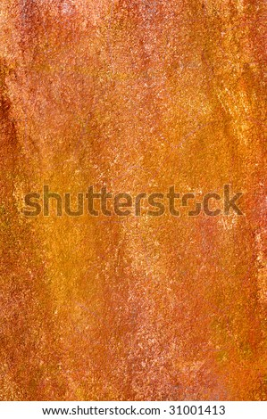 Rust colored rock background