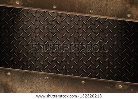 rust metal pattern abstract background
