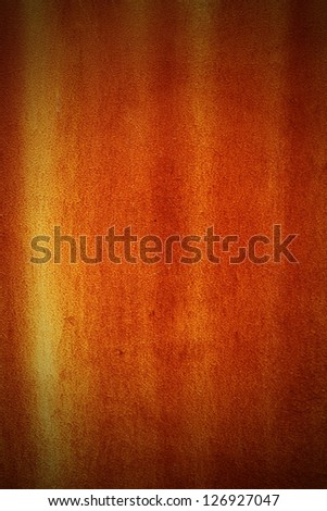 Rust on the wall texture background