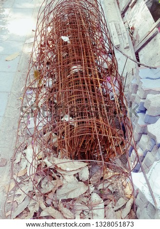 rust steel wire for construction