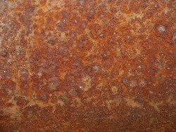 rust texture  on  metal sheet abstrack background concetp