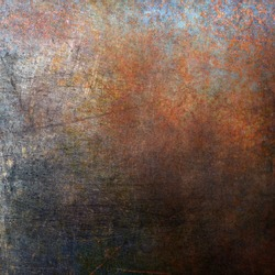 Rusted metal background