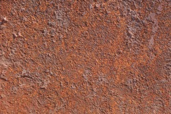 Rusted metal texture background. High resolution image of oxidized iron steel sheet wall.