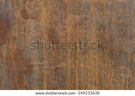 Rusted metal texture for background