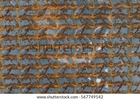 Rusted metal texture for background #567749542
