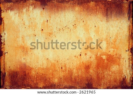 Rusted Metal Texture for design