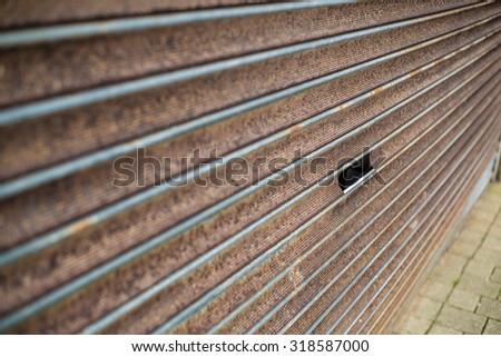 Rusted shop shutter #318587000