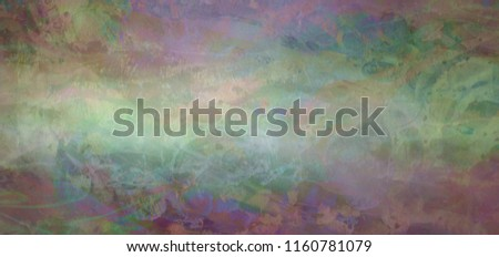 Rustic arty grunge banner background - textured rough rusty earthy multi coloured wide banner ideal for a grunge background