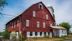Rustic Barn in Thurmont Maryland