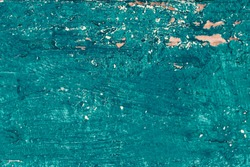 Rustic   beach wood background -  vintage blue color wooden textured planks close up, painted