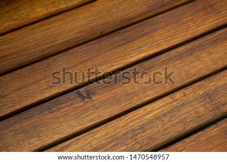 Rustic brown wooden plank background Stock fotó ©