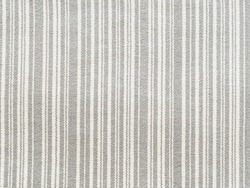 Rustic fabric with monotone stripes