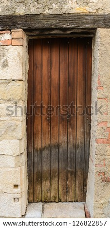 Rustic French Door