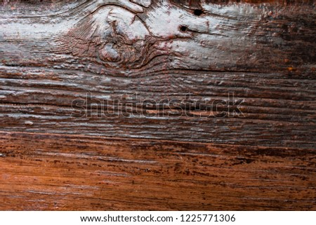 Rustic Grooved Wood Background