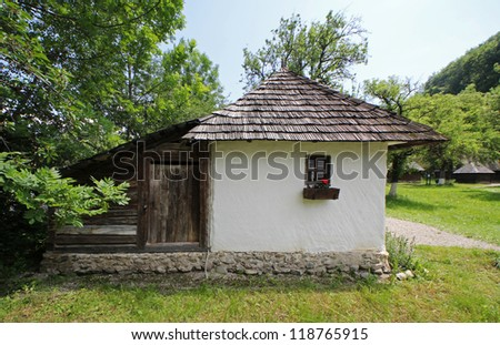 Rustic house in Bran village